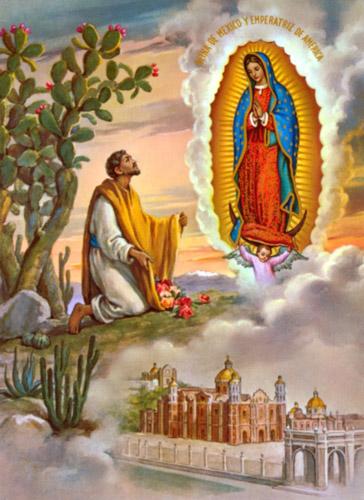 Гвадалупська Діва Марія і Хуан Дієго