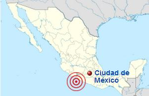 Епіцентр землетрусу в Мехіко, 1985