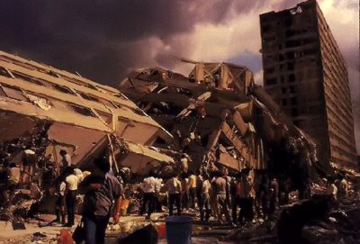Руйнівний землетрус у м. Мехіко - 19.09.1985