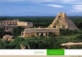 Ушмаль - місто майя, півострів Юкатан